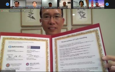 MOU with The Chungnam Chamber in Korea